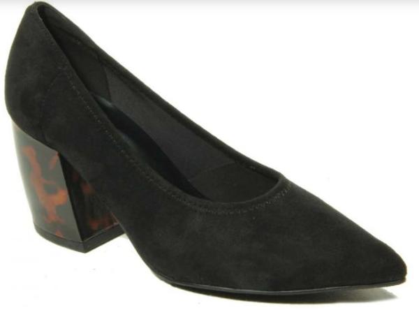 black womens heels