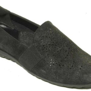 black casual heel shoes