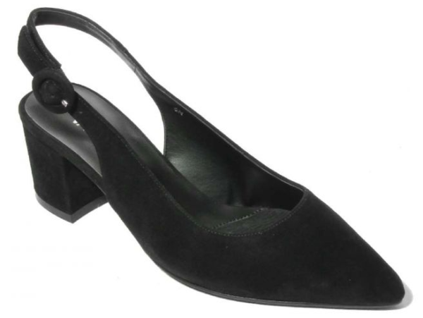 womens black suede pumps