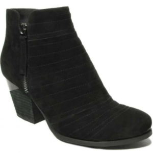 womens ankle black nabuk boots