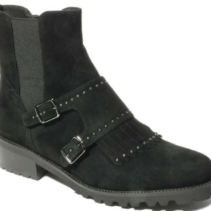 black suede luxe boots