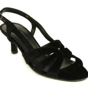 Vaneli Maeve heel in black velvet