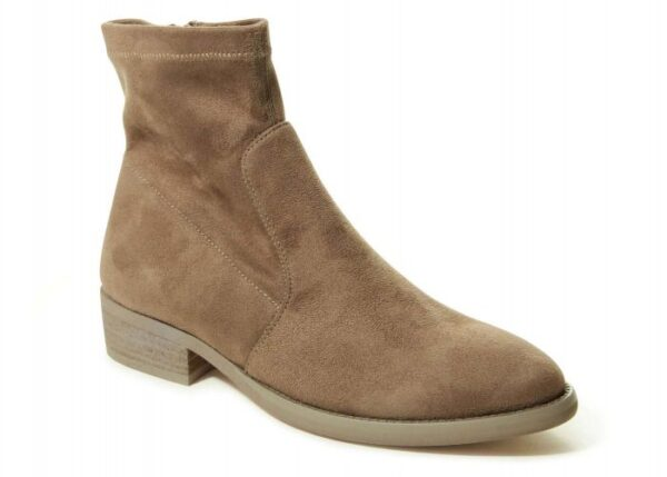 VANELi Henson boots in Taupe Punto Suede