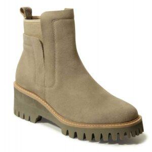 Vaneli Mariel boots in Tortora Nival Suede