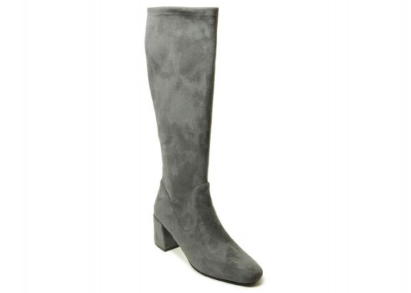 Vaneli Sirice boots in Grey Punto Stretch Suede